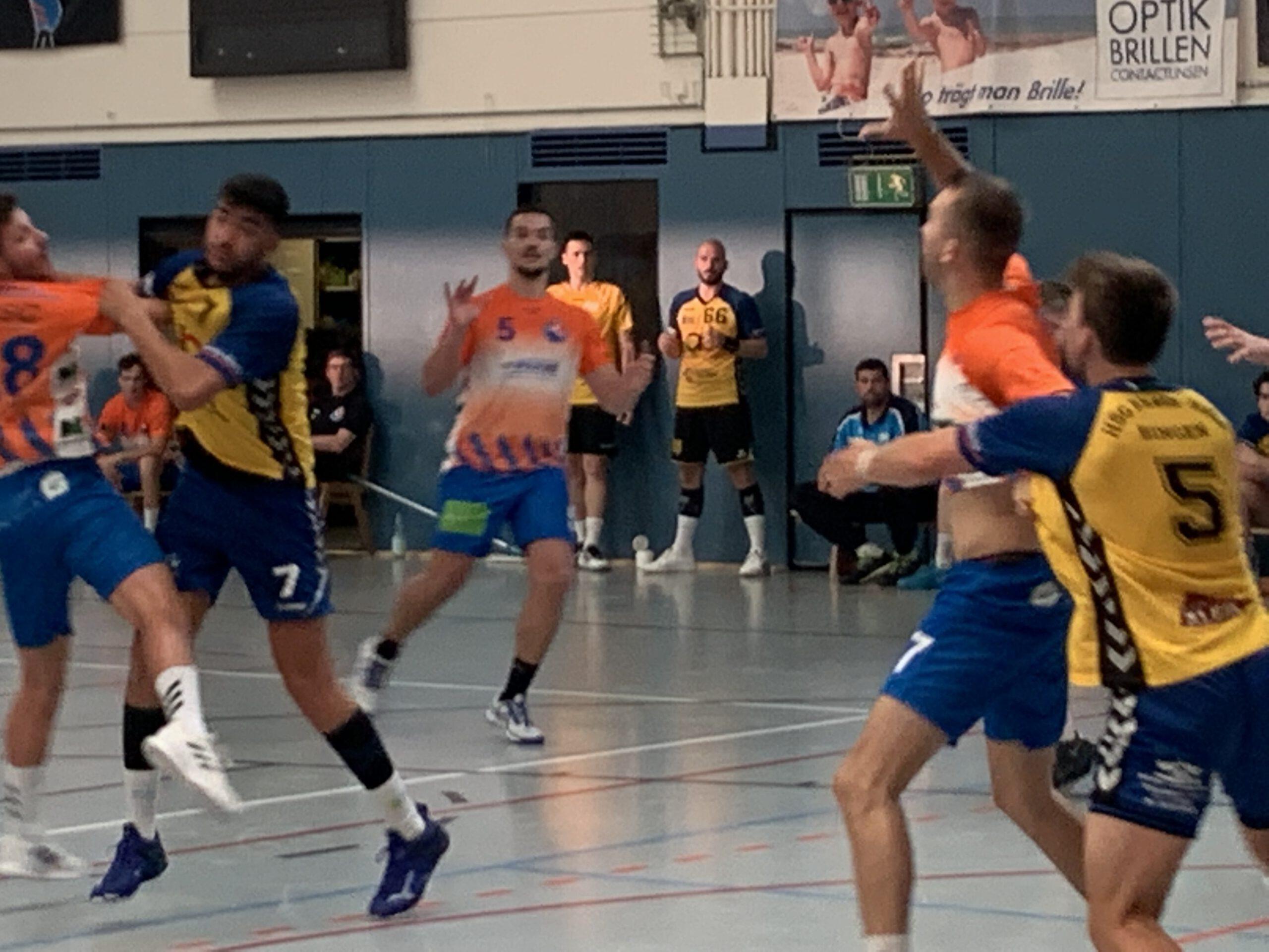 Read more about the article …ein hartes Stück Arbeit…                                             HSG-Oberliga gewinnt zweiten Test